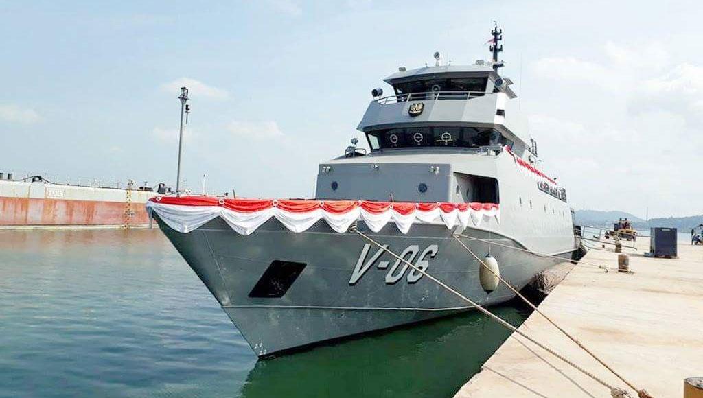 3 Kapal Perang TNI AL Diluncurkan di Batam
