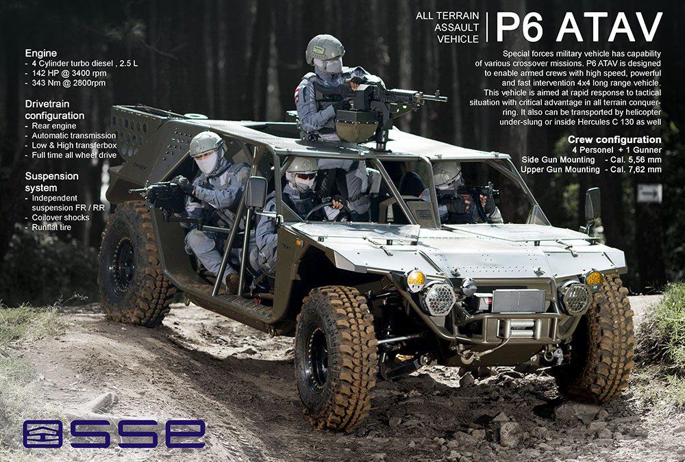 SSE P6 ATAV
