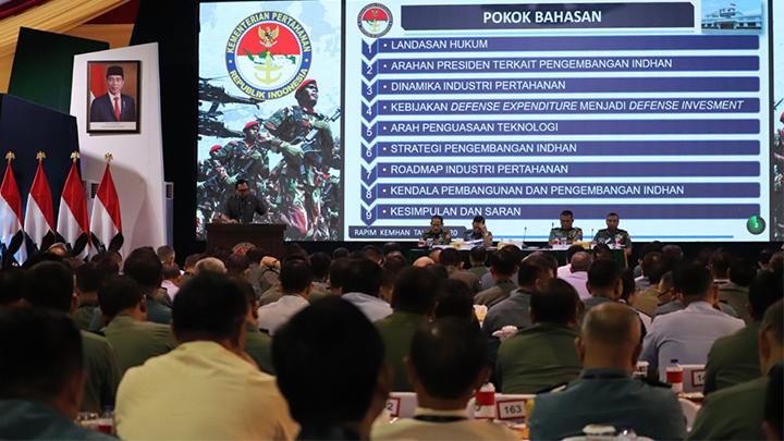 KKIP dalam Rapim Kemhan TNI dan Polri 2020