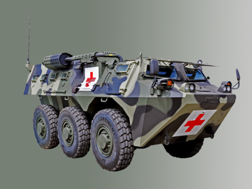 Anoa 6×6 Ambulance