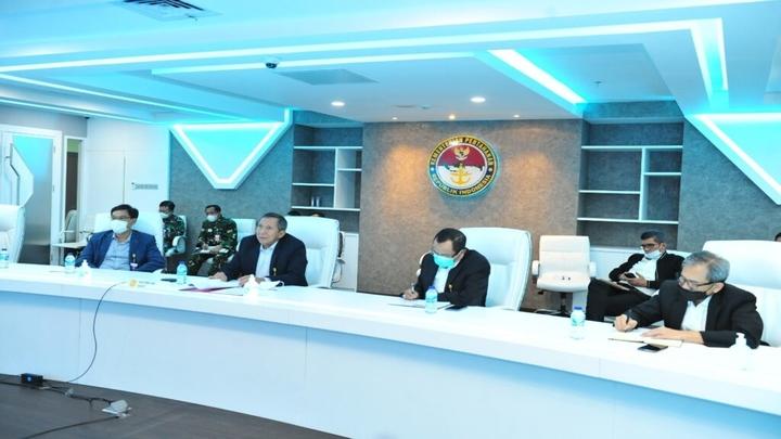 Perkenalan Pejabat Baru KKIP dan Tim Ahli Kepada Pimpinan Industri Pertahanan