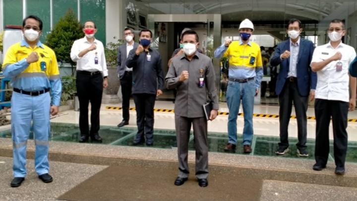 Kunker Timlak KKIP ke PT. Dahana Subang