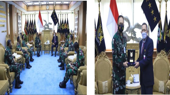 PERTEMUAN KATIMLAK KKIP DENGAN KEPALA STAF TNI AU