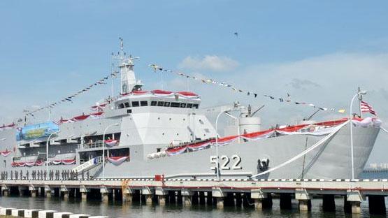 KRI Teluk Youtefa-522 Perkuat TNI AL