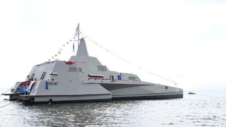 Mengintip Kapal Perang KRI Golok-688, Alutsista Baru TNI AL